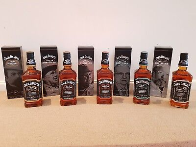 Jack Daniels Master Distiller 1-5 700ml each 43%