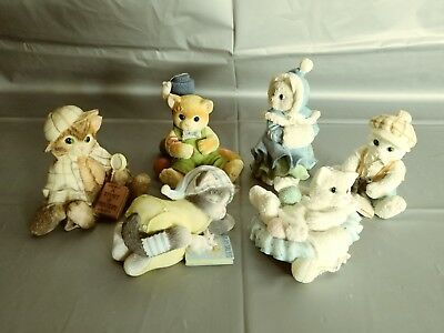 LOT of 6 Calico Kittens by Enesco