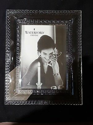 Beautiful Modernistic Chunky Waterford Lead Crystal Lismore Picture/Photo Frame