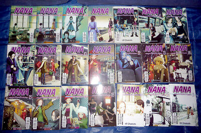 Nana collection 1/21 SERIE COMPLETA - Manga Panini Comics - COMPLETA