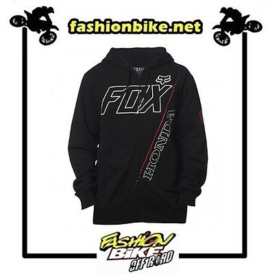 Felpa Fox Honda  Zip Fleece Taglia M
