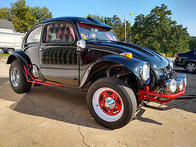 1969 Volkswagen Beetle - Classic  69 VW BAJA BEETLE DUNE BUGGY 1776 engine, roll bar, leather, stereo, trail ready
