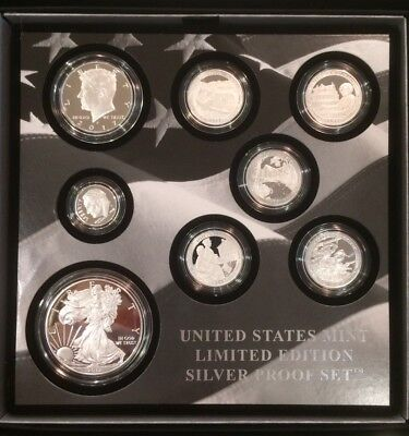 2017 S  Limited Edition Silver Proof Set  Ready To Ship