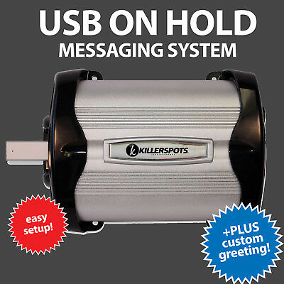On Hold Messaging OHP8000USB with Customized Business Messages (BRAND NEW)