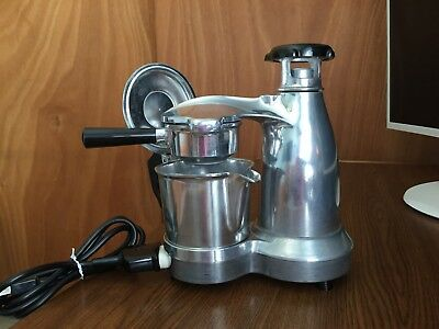 Vesuviana Espresso Maker Vintage Electric Aluminum Made in Italy EUC