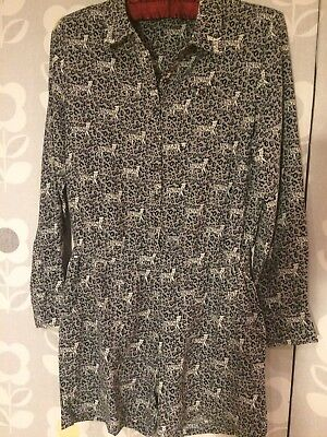 Cat Animal Print Playsuit, Grey, Next 12 Years, Party