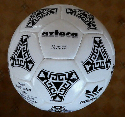 ADIDAS WORLD CUP 1986 MEXICO OFFICIAL MATCH BALL Gr.5 Neu Top !!