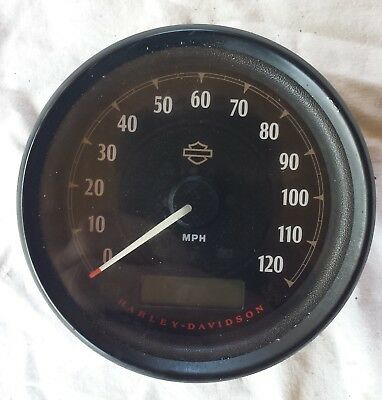 Harley Davidson stock speedometer 2016 sportster 48 0nly 1600 some miles!