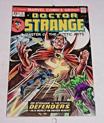 Doctor Strange #2 comic (9.2 NM-) Defenders cover and app.