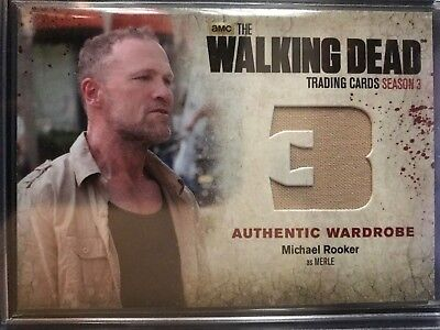 """TWD S3  Michael Rooker as Merle """"Authentic Wardrobe"""" #M33"""