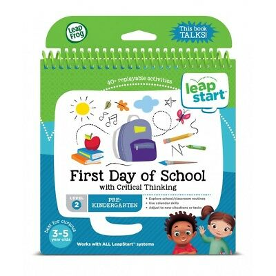 Leapfrog Leapstart Book: First Day Of School w/ Critical Thinking Level 2 (3-5y)