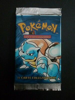 Pokemon Booster Pack - SET BASE ITA pacchetto new sealed -rare holo no charizard