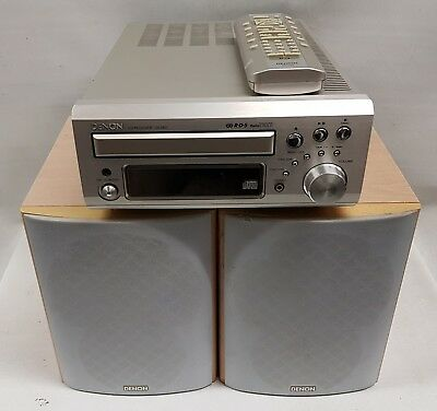 Denon CD Receiver UD-M31 with Speakers & Remote - Fast Shipping