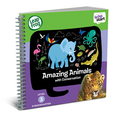 LeapFrog LeapStart Year 1 Book: Amazing Animals With Conservation 4-6 years