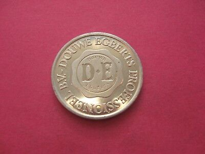Douwe Egberts Coffee Silver Coloured Token Coin C