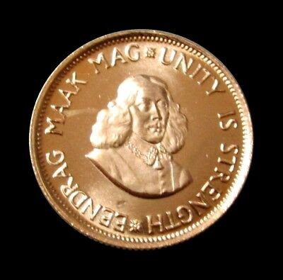 1978 Gold South Africa 2 Rand Van Riebeeck Coin Condition Choice Mint State