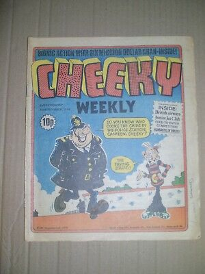 Cheeky issue dated December 22 1979