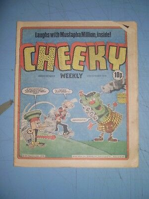 Cheeky issue dated October 27 1979