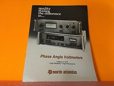 North Atlantic  Phase Angle Voltmeters