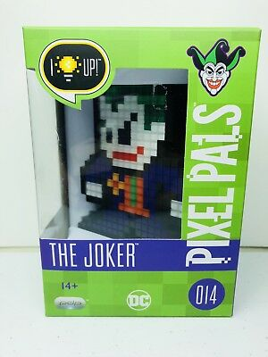 PDP Pixel Pals DC Comics THE JOKER 014 Nintendo Collectible Light Up NEW
