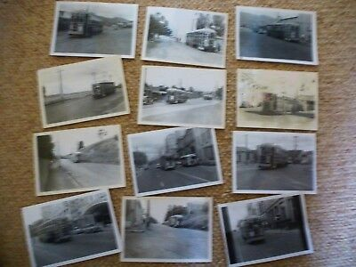 48 x Australia Tasmania Tramcar Related Photograph/Postcards All Pictured c1960s