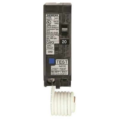 (2-Pack) Siemens 20 Amp 1 in. Single-Pole Combination AFCI Circuit Breaker