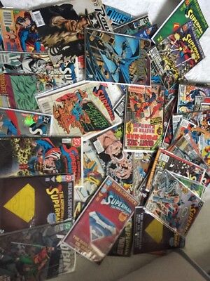 Mixed lot of 20 COMICs Marvel DC Indy Number 1's  Autographs spiderman superman