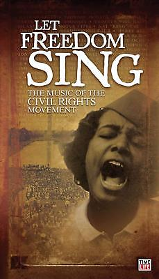 LET FREEDOM SING! Music Of The Civil Rights Movement (Blues/Folk)  [3-CD Set]