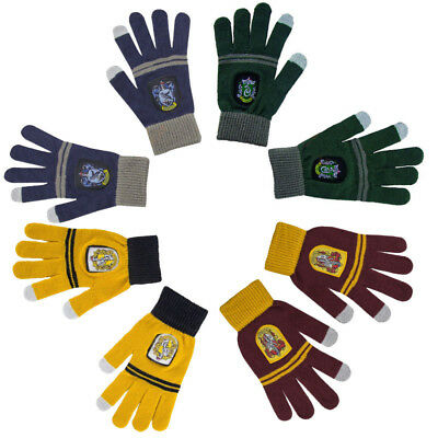 Gants Tactiles Harry Potter Maisons Gryffondor Serpentard Serdaigle  Poufsouffle 46e8d1bdeb0