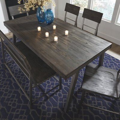 Signature Design by Ashley Raventown Rectangular Dining Table