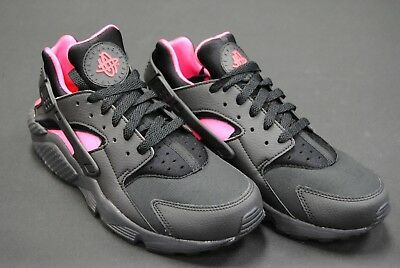 [318429 055] New Men's Nike Air Huarache Black Anthracite Pink Le1081