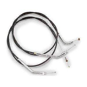 Barnett 101-30-41001-08 Vinyl Idle with Cruise Control Cables +8in.