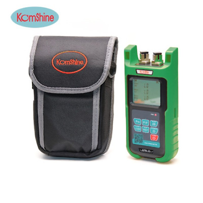 Komshine Optical Power Meter and the Visual Fault Locator Combine in 1 KPM-35V