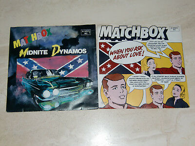 """Matchbox, 2 Singles 7"""", Midnite Dynamos - When You Ask About Love, GER, 1980"""