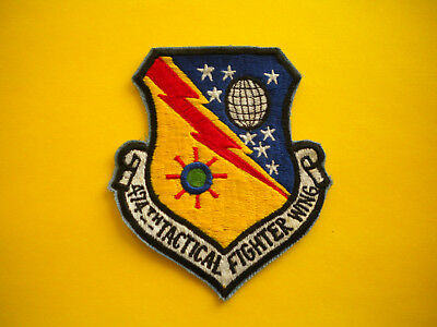474th Tactical Fighter Wing USAF Patch