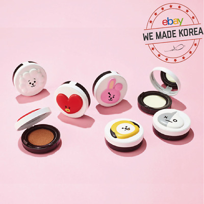 BTS BT21 X VT COSMETIC Real Wear Makeup Cushion 4types K-pop Authentic Goods