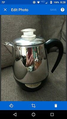 Vintage Farberware Superfast Percolator 2-4 Cup