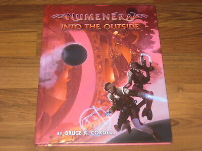 Numenera Into the Outside HC Sourcebook Monte Cook Games 2017 New Neu
