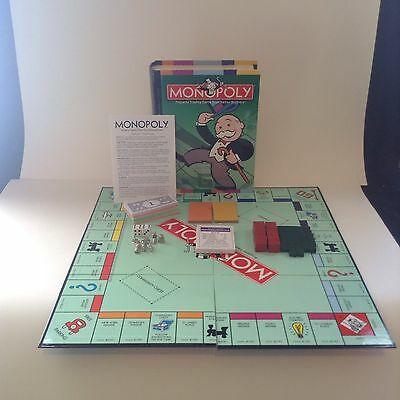 Parker Brothers 2006 Monopoly Bookshelf Edition Board Game Fun Play
