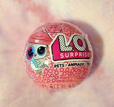 LOL Surprise pets eye spy - 7 Surprises in 1 - Series 4 Wave 1 - Authentic MGA
