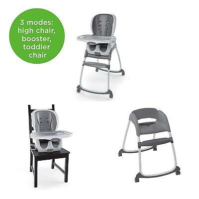 Ingenuity SmartClean Trio Elite 3-in-1 High Chair, Slate