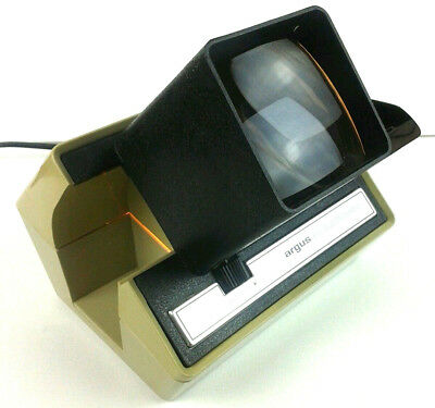 Argus Slide Viewer 693 Vintage Automatic Electromatic 120V Working