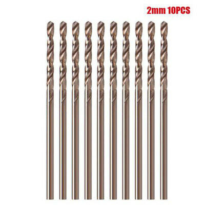 High Speed Steel Twist Drill Bits Straight for wood 10pcs Set 1mm-3.5mm useful