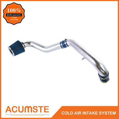 FOR 96-2000 CIVIC DX//LX//CX 1.6L L4  COLD AIR INTAKE INDUCTION PIPE BLUE FILTER