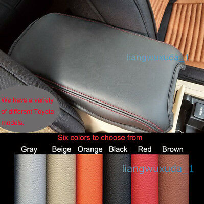 Fits 2007-2017 Toyota Camry Leather Center Console Lid Armrest Cover Six Color