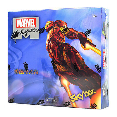 2018 Upper Deck Marvel Masterpieces Simone Bianchi Hobby Box NOW SHIPPING