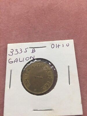 Galion Auto Park (Ohio) parking token Lot Of 2