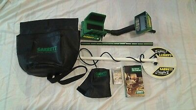 """GARRETT"" # GTAX 1250 Metal Detector with accessories"