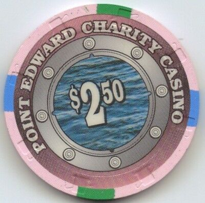 Point Edwards Charity Casino $2:50 Chip Snapper - Canada