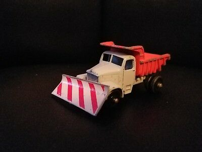 Lesney Scammell Snow Plough#16 Vintage Diecast Truck With Plow